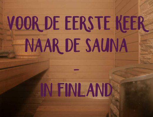eerste keer sauna