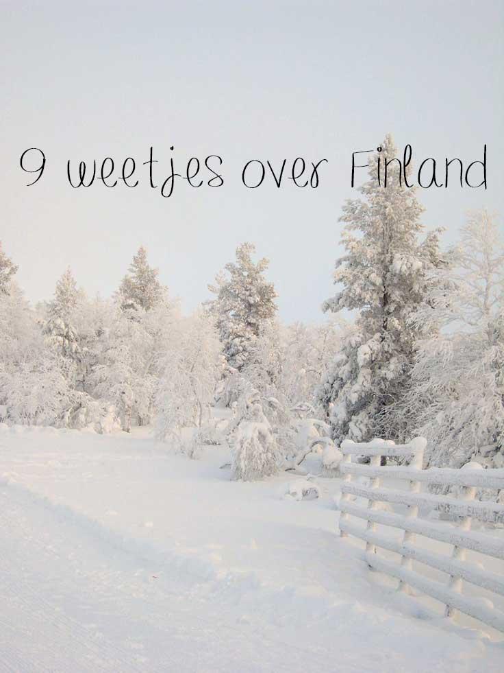weetjes over finland