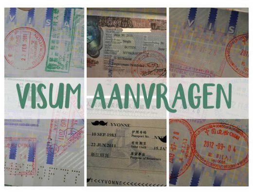 visum aanvragen