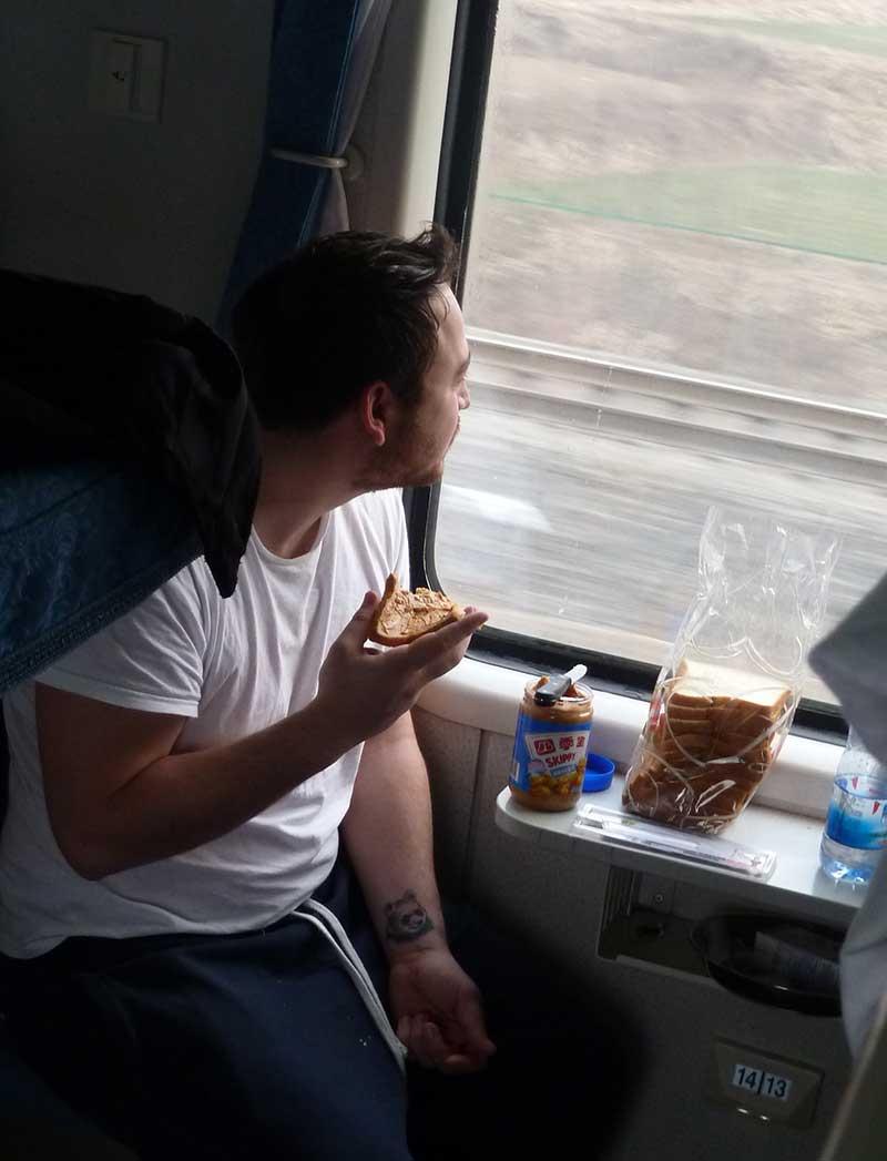 verhuizen per trein