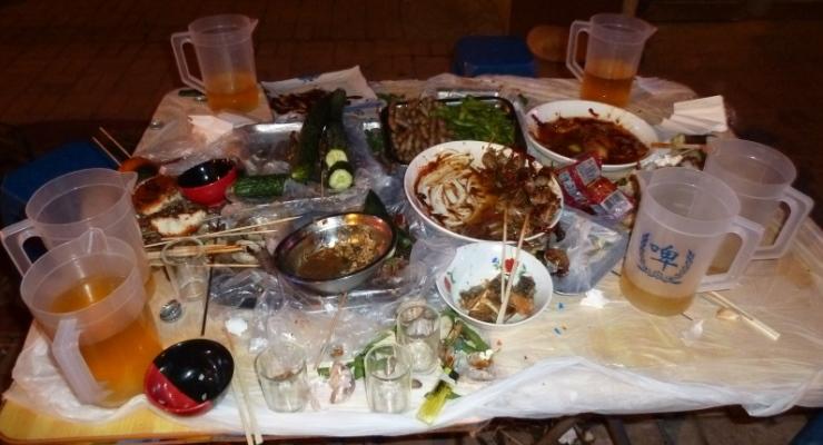 tafelmanieren in china