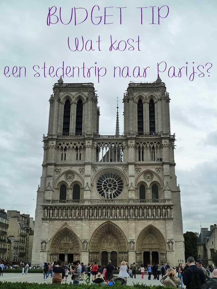 budget Parijs stedentrip naar Parijs