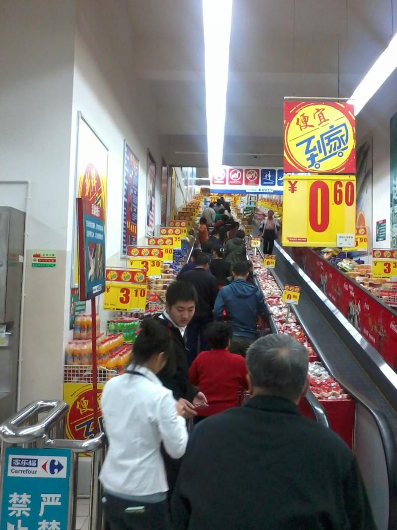 winkelen in China