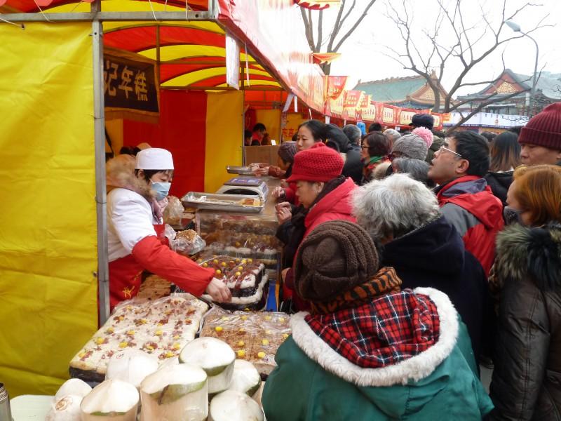 Temple Fair Beijing, eten