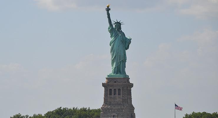 op reis naar amerika
