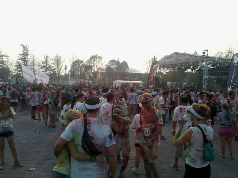 color run in beijing