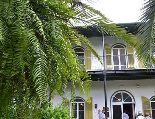 Hemingway Huis in Key West