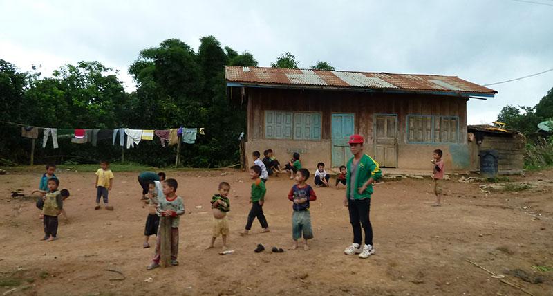 actief in Luang Prabang