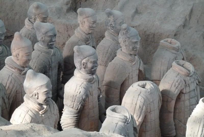 terracotta leger xi'an