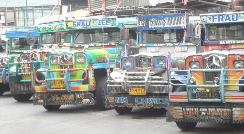 jeepneys in de filipijnen