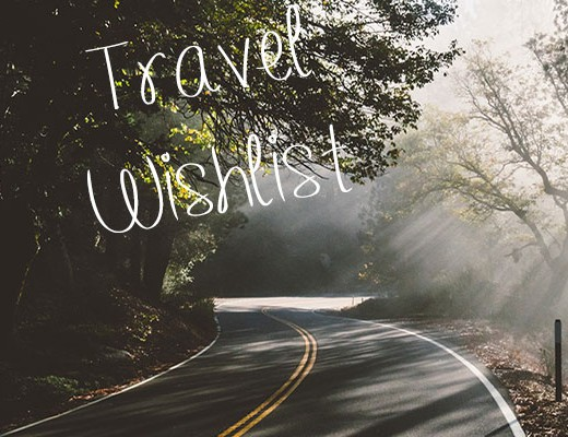 travel wishlist