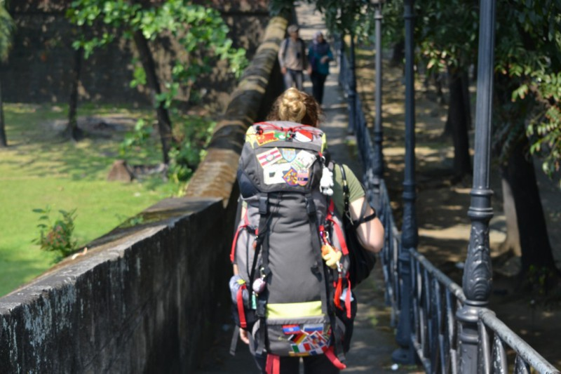 backpacken in China