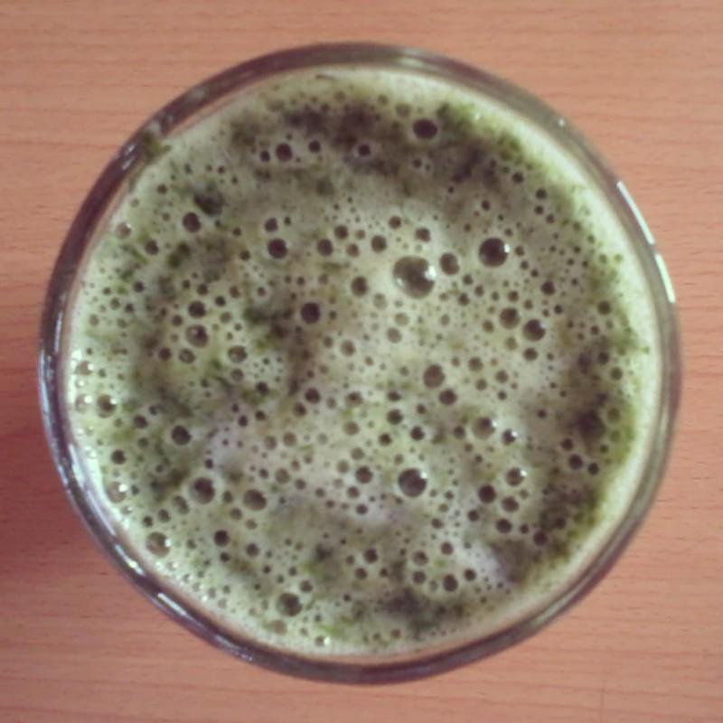 gezonde groene smoothie