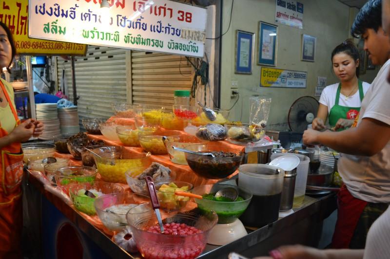 Thailand, eten, ijs