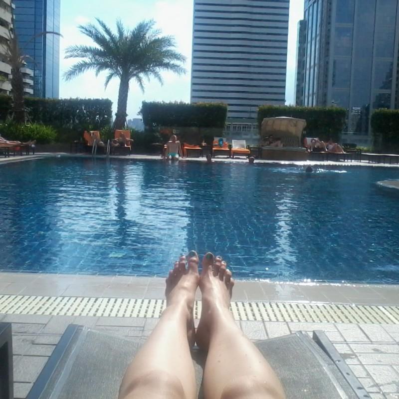 hotel met zwembad bangkok
