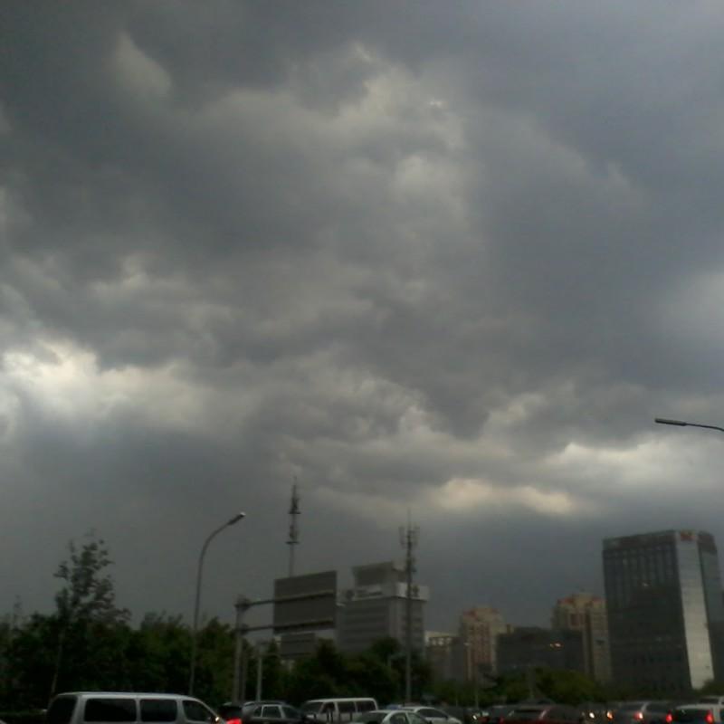 storm in beijing