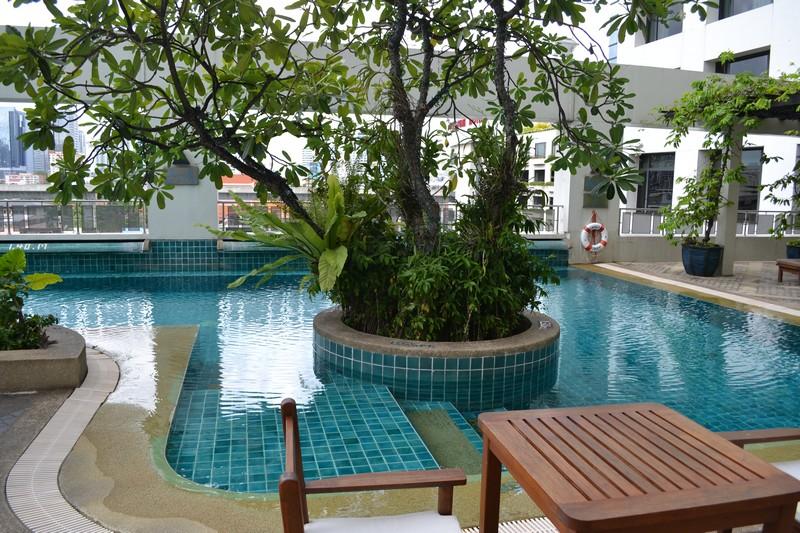 hotel bangkok met zwembad