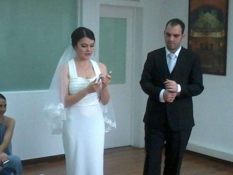 een bruiloft