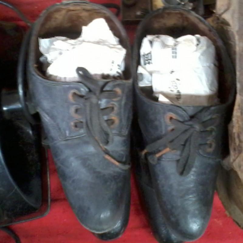 schoenen gebonden voeten