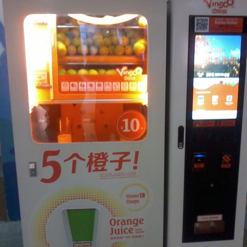 machine voor verse sinaasappelsap