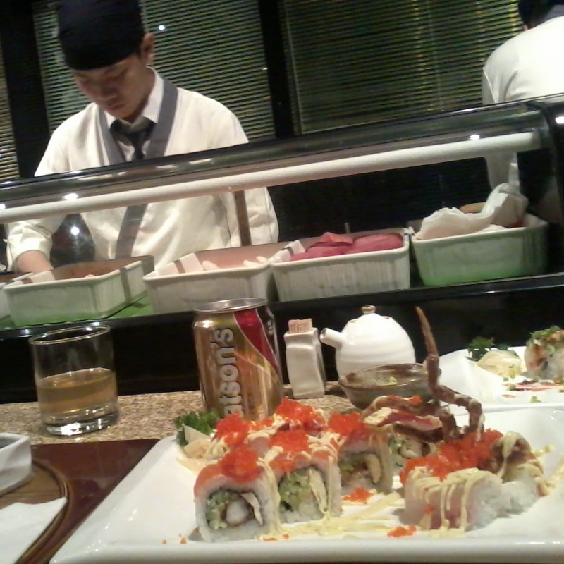sushi eten