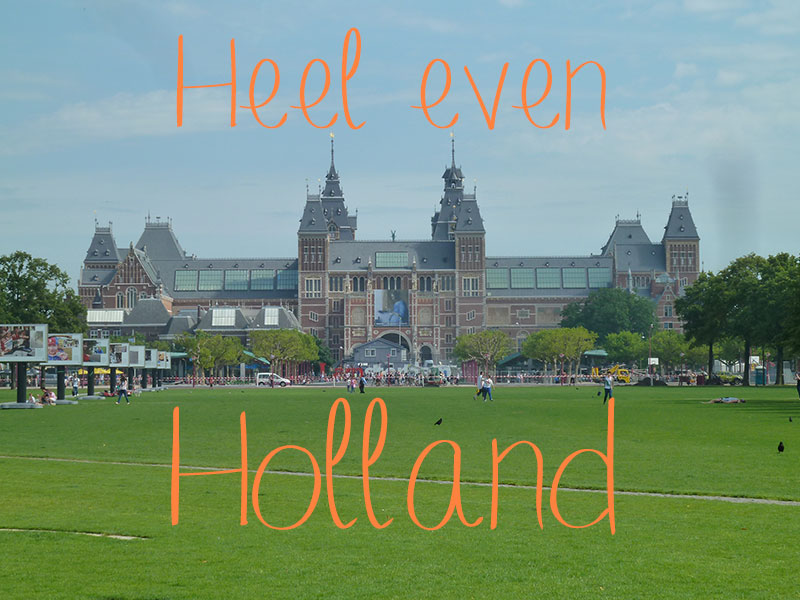 heel even holland