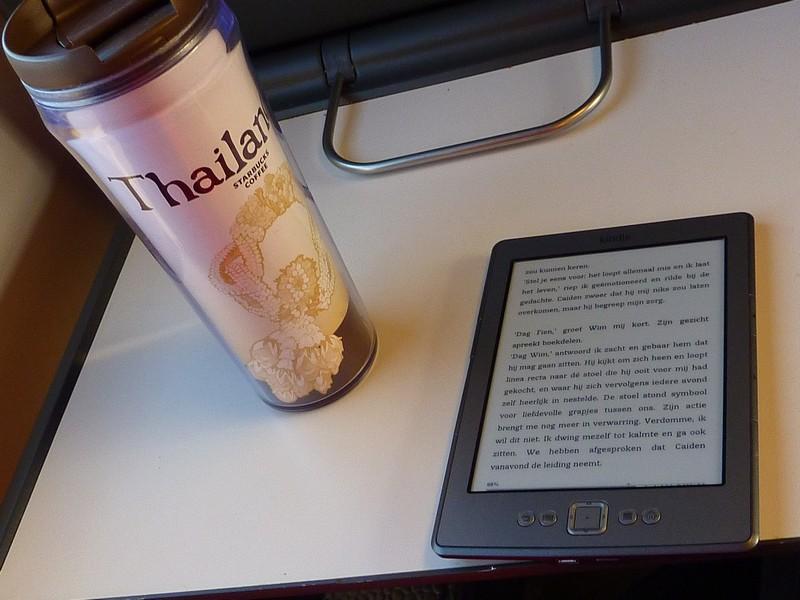 lezen in de trein