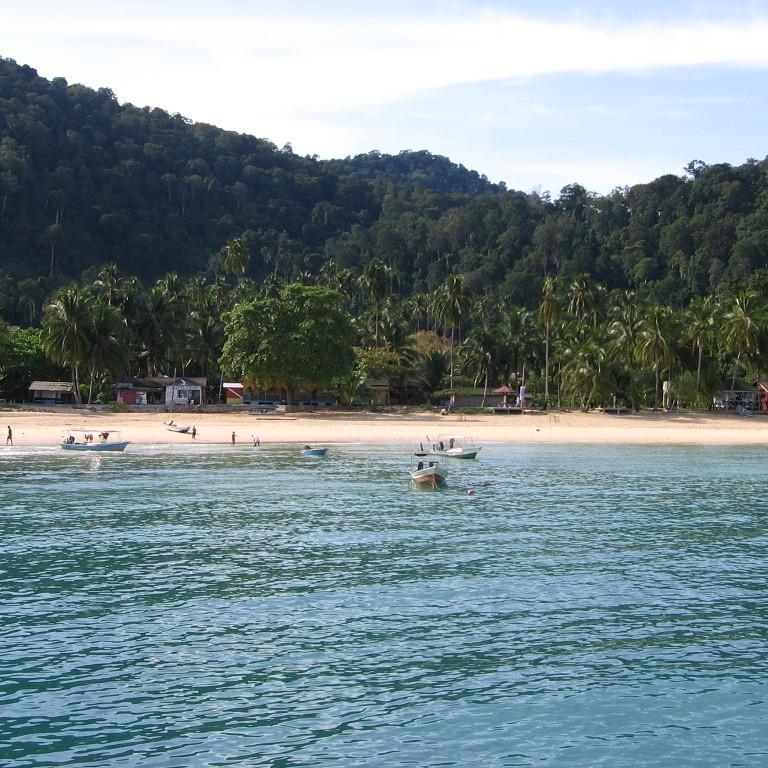 pulau tioman maleisie