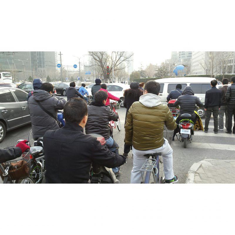 verkeer in Beijing