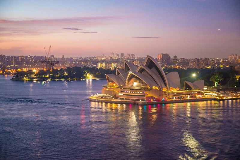 Geëmigreerd naar Sydney