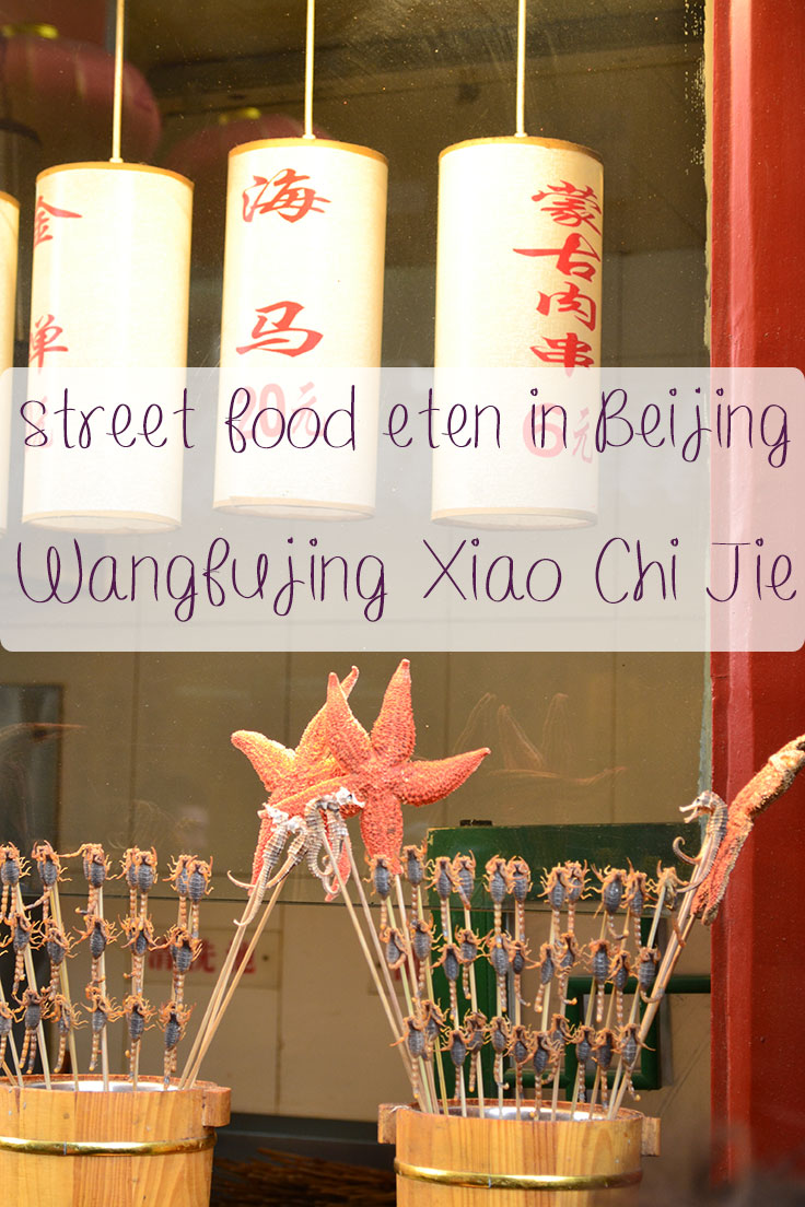 Wangfujing Xiao Chi Jie in Beijing schorpioenen eten