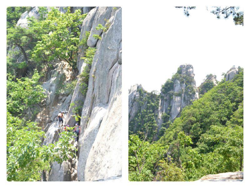 hike naar bukhansan national park