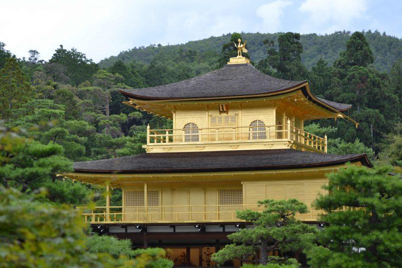 gouden paviljoen in kyoto