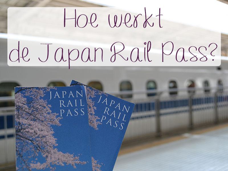 hoe werkt de japan rail pass
