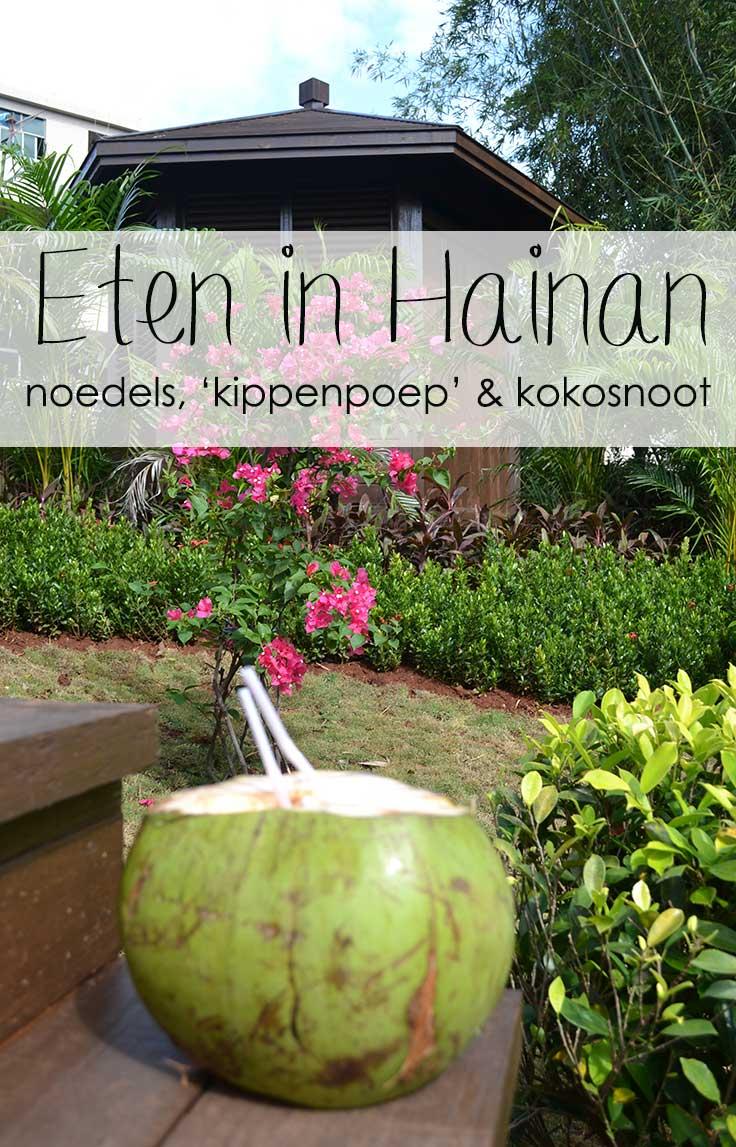 eten in Hainan