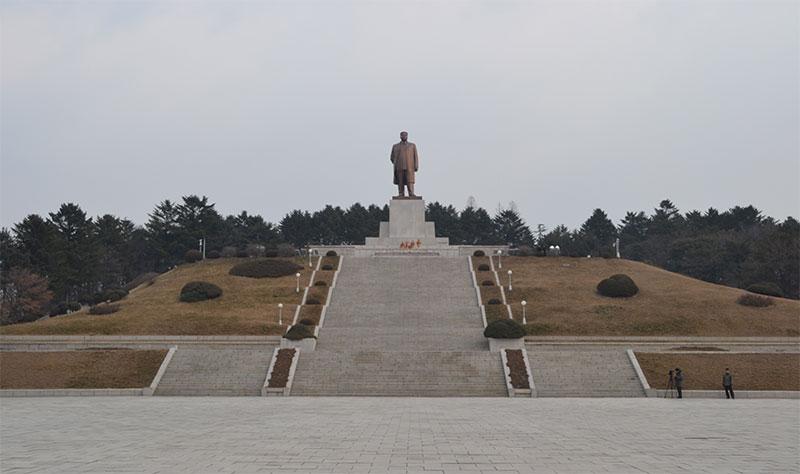Kim Il sung Kaeasong