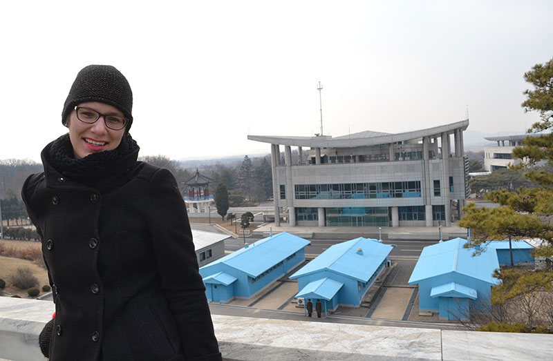 dmz in Noord Korea