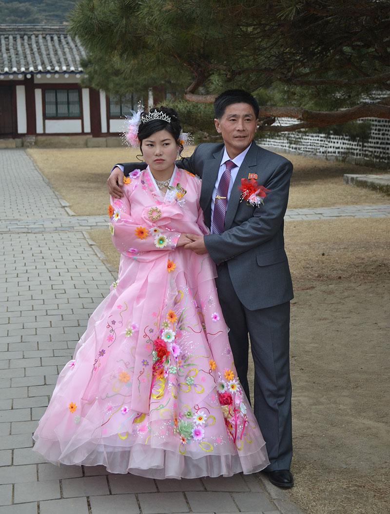 trouwen noord korea