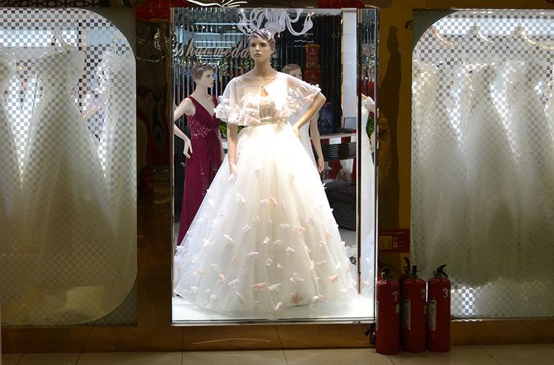 wukesong in beijing trouwjurk kopen in china