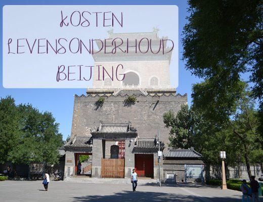 kosten van het levensonderhoud in Beijing