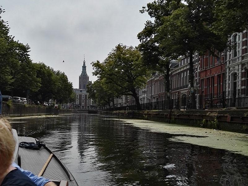 rondvaart met de Ooievaart in Den Haag