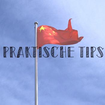 praktische tips china