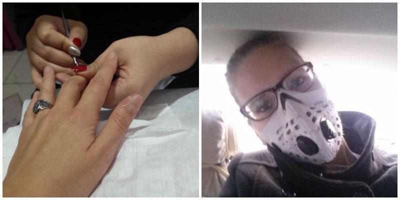 manicure in china