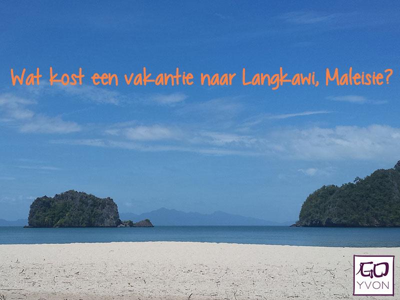 wat kost een vakantie naar langkawi