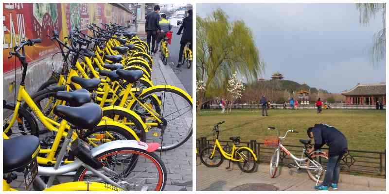 fietsen in Beijing