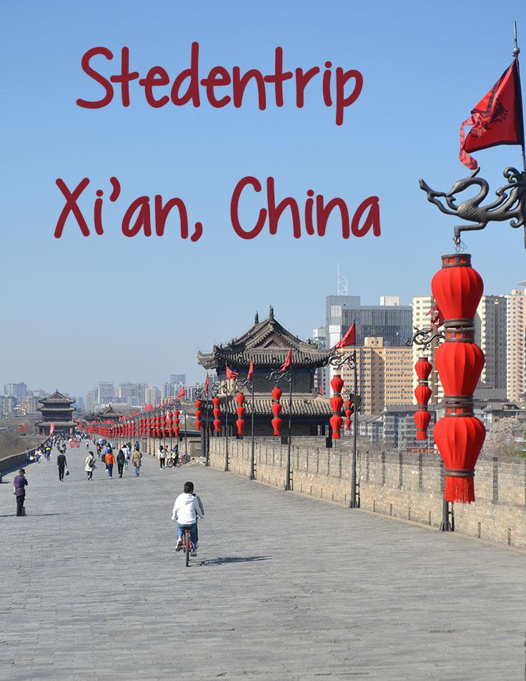 stedentrip naar xian