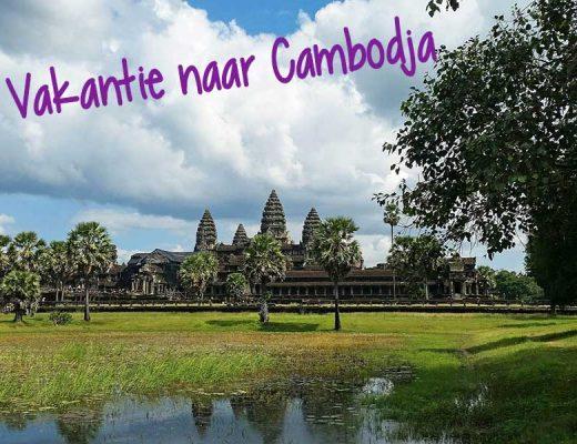 vakantie naar cambodja