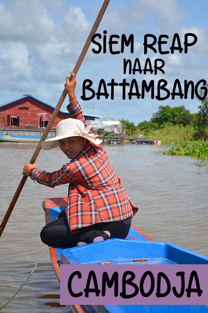 boot van siem reap naar battambang tonle sap meer