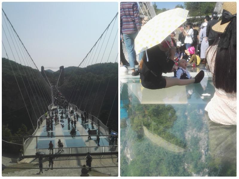 glazen brug in zhangjiajie china
