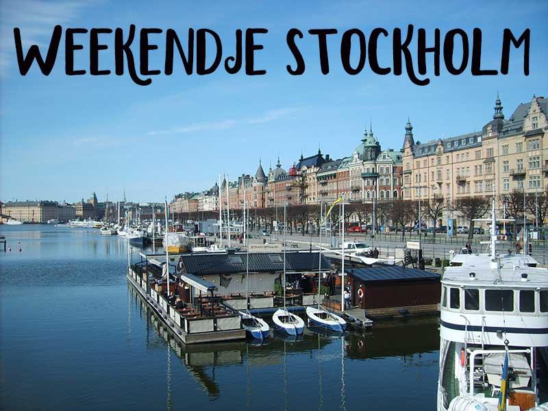 weekendje stockholm